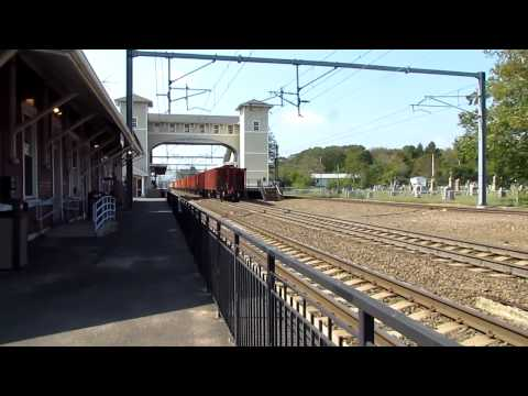 Amtrak mow train meets aclea