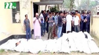 চুয়াডাঙ্গায় সড়কে চলে গেল ১৩ নির্মাণ শ্রমিকের প্রাণ