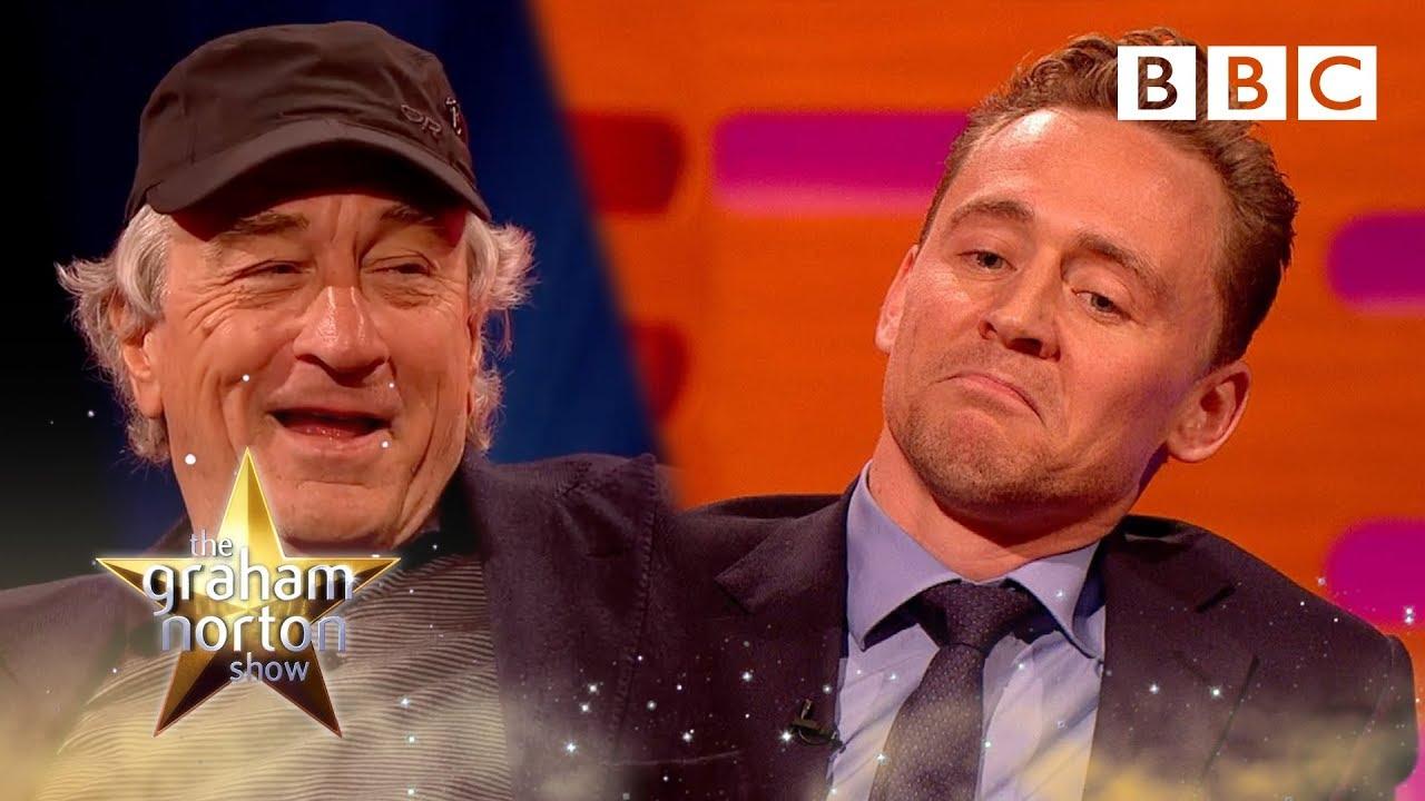 Tom Hiddleston's celebrity impressions   The Graham Norton Show -  BBC