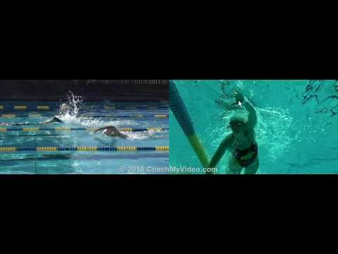 Swimming: Personalized Video Analysis for a Triathlete from CoachMyVideo.com