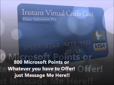 Virtual Credit Card Verify PayPal NOW!! Free VCC