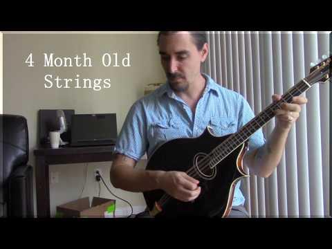 Comparing Old Vs. New Mandolin Strings