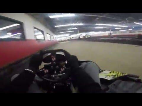 Extreme Indoor Kart Racing Clio MI - 1/3/2015