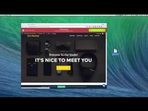 Convert HTML Website To WordPress Theme