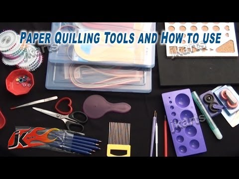 Paper Quilling Tools | How to use Quilling Tools | JK Arts 212