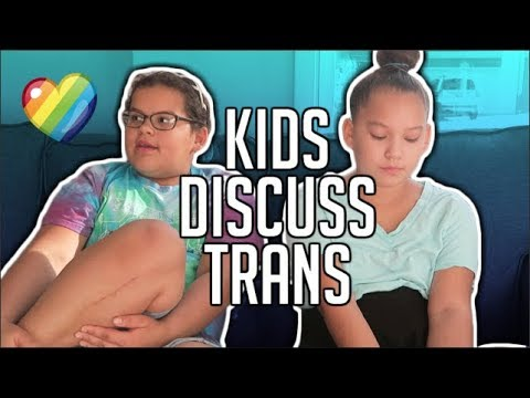 ASKING MY LITTLE SISTERS ABOUT BEING TRANSGENDER