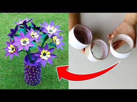 Amazing Idea With Used Round Tape Roll | Best Out of Waste