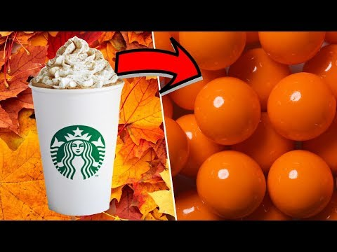 Pumpkin Spice Bubble Gum- How to Make Chewing Gum!
