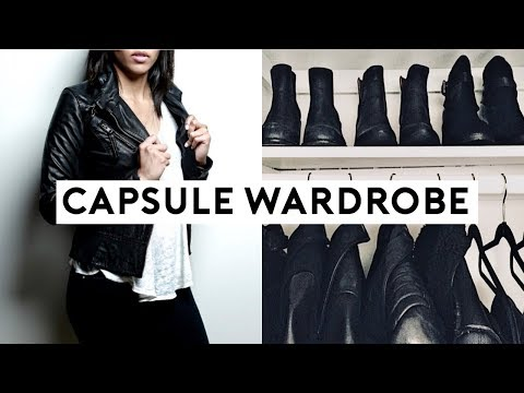HOW TO BUILD A CAPSULE WARDROBE FOR BEGINNERS! 3 EASY STEPS TO A MINIMAL WARDROBE 2018