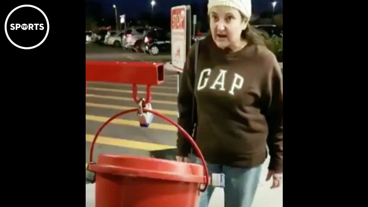 Karen Gets TILTED From Salvation Army Workers With Masks