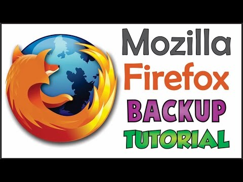 Mozilla Firefox Backup | Save Bookmark Passwords (Tutorial) -  TricK i Know
