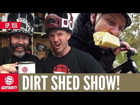 When Does Mountain Biking Become Art?   Dirt Shed Show Ep. 155