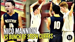 Nico Mannion vs WHOLE TEAM OF 3 POINT SNIPERS! LOL They Hit More 3s Than 2s