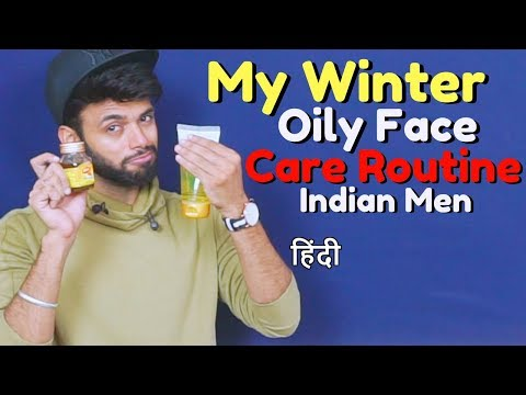 My Winter Oily Face Care Routine  | Winter Skin Care For Oily Skin | ❤️👌