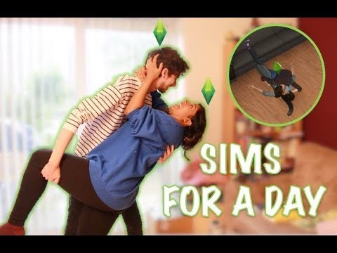 Boyfriend & Girlfriend: Living Like Sims For 24 Hours Challenge