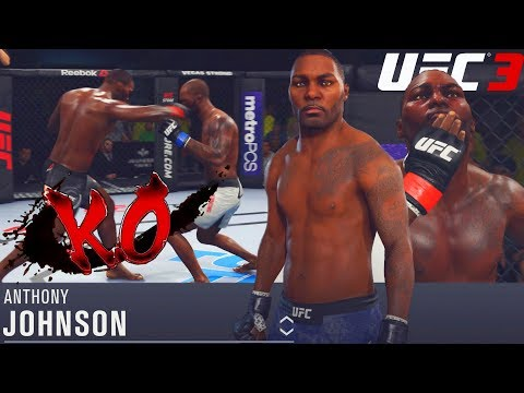 Anthony Johnson Will Put You To SLEEP! Too Much Power! EA Sports UFC 3 Gameplay