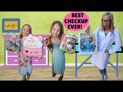 KIds Get Annual Check Ups from Toy Doctor !!!