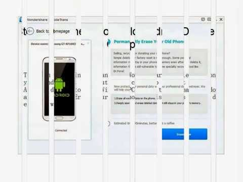 【Android Data Eraser 】 How to Permanent Delete Data from Samsung