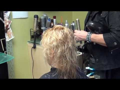 Creating volume with baby fine hair- Carrie & Company, Sturbridge, MA