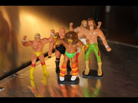 How to make your own wrestling action figure
