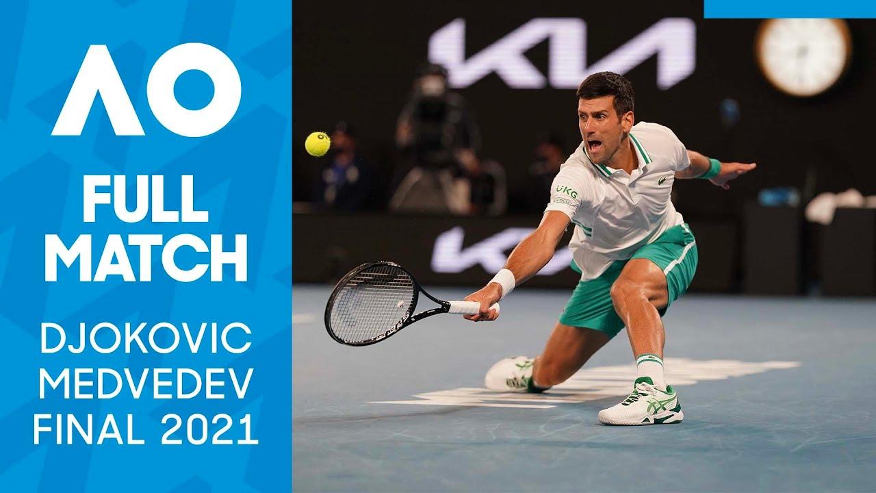 Novak Djokovic vs Daniil Medvedev Full Match | Australian Open 2021 Final