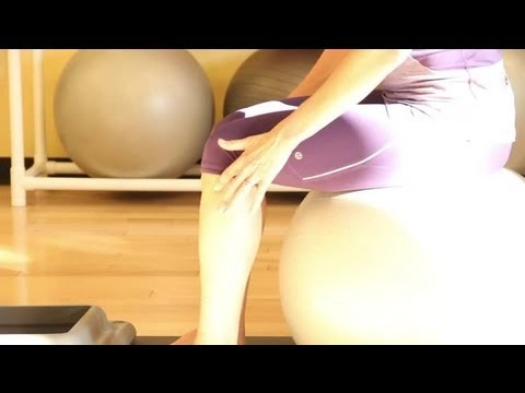 How to Choose the Correct Size Yoga Ball : Yoga Tips for a Healthy Lifestyle