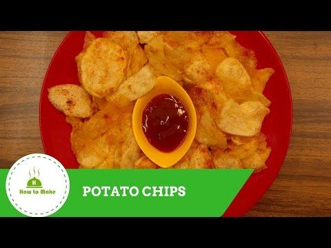 Crispy Potato Chips / Aloo chips