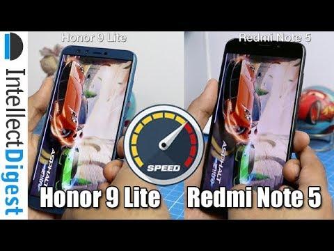 Honor 9 Lite VS Redmi Note 5 Speed Test & Performance Comparison | Intellect Digest
