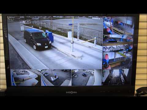 Car Wash & Gas Station HD-SDI Security Cameras Toronto