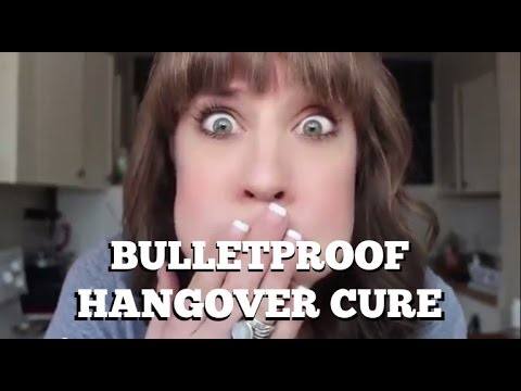 The Bulletproof Hangover Cure