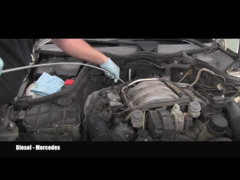 Mercedes C240 Automatic Transmission Fluid Inspection