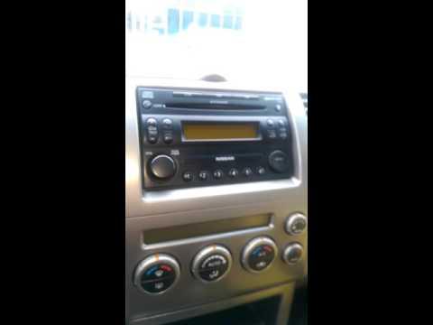 Nissan Pathfinder radio