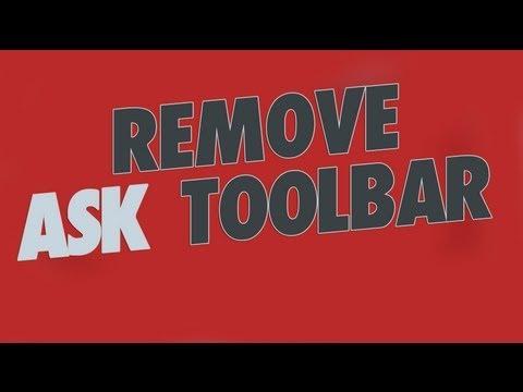 Remove Ask.com Toolbar