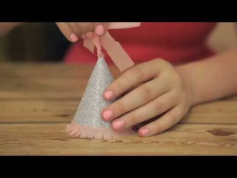 How To Make Petite Party Hats From Scratch