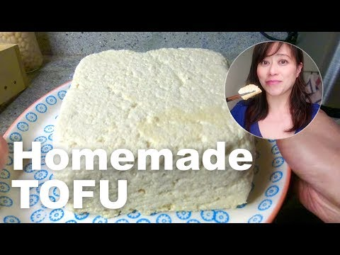 How to make tofu at home - the easy way