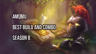 BEST BUILD AND COMBO FOR AMUMU JUNGLE S8