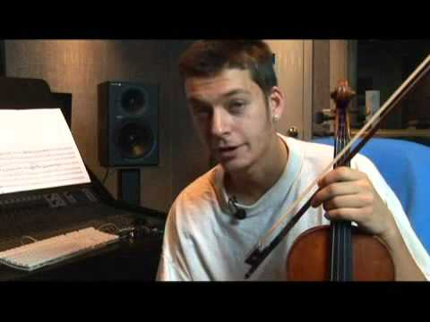 How to Play an A Flat Major Violin Scale