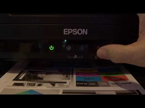 Epson L210: It is nearly time to reset the ink levels