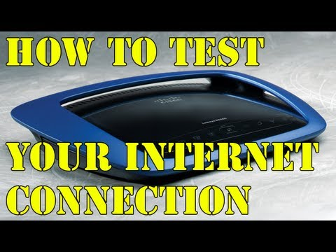 Test Your Internet Speed Connection