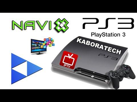 How to install KODI'S NaviX to PS3