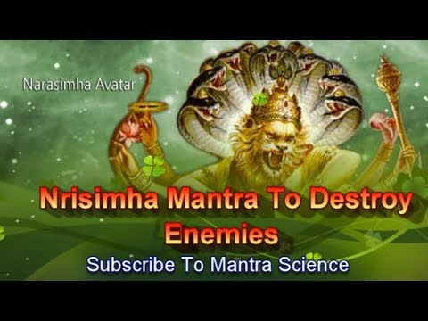 Extremely Powerful Sri Narasimha Mantra To Destroy Enemies