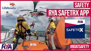 360° VR HELICOPTER RESCUE - RNLI MCA - RYA Safetrx - Get onboard for a full experience!