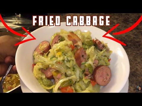 Worlds Best Fried Cabbage & kielbasa recipe