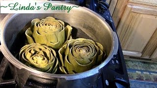 Pressure Cooking Artichokes So Easy With Linda S Pantry