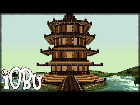 5 STORY ASIAN PAGODA! - Minecraft Timelapse - Let's Build with Download