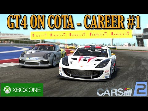Project Cars 2 | CAREER START IN GT4 CARS | Xbox One | Early Access