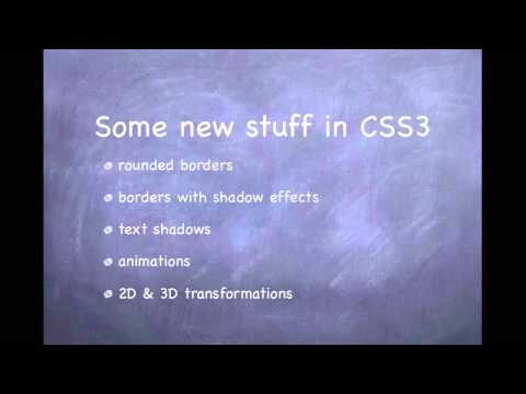 CSS3 - 01. Introduction to CSS3