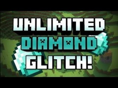 Minecraft Pocket Edition unlimited Duplication Diamond Glitch (or any item) 0.8.1