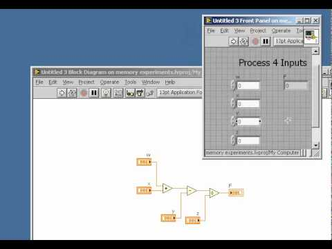 LabVIEW Tips: Set the window size of a front panel