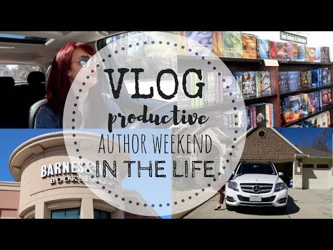 VLOG | Productive Author Day-In-The-Life ft. WORDASHES | P.O. Box Haul